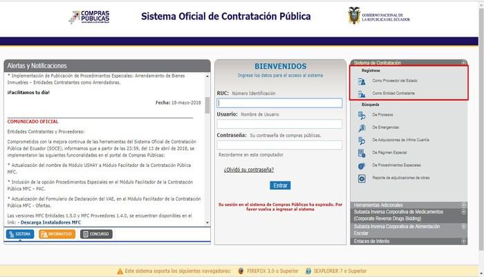 Home Registro