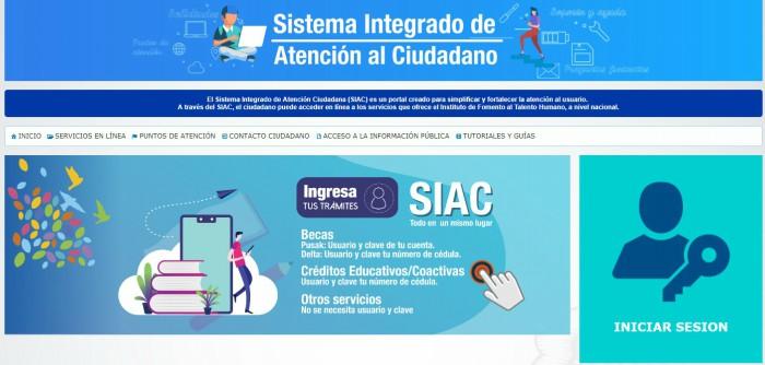 becas créditos y coactivas del SIAC