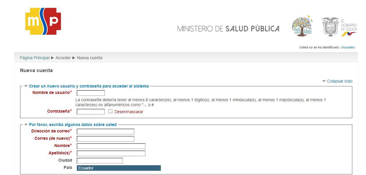 crear usuario msp