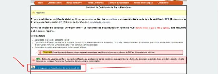 seleccionar formulario